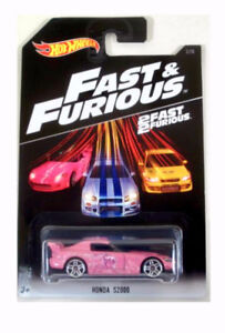 Brand New Pink S2000 Fast & Furious Hot Wheels Car, Very Rare