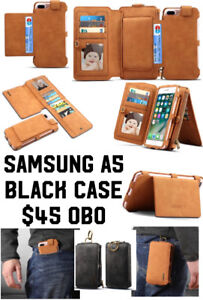 Samsung Galaxy A5 Brand New Leather wallet/phone case.