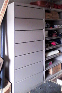 7-Drawer Steel Lateral File Cabinet