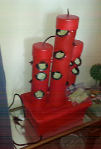 RED Hydroponic Tower Garden
