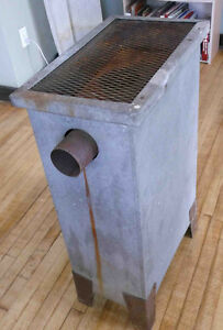 Gas garage heater for sale as collectible.