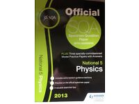 National 5 Physics model practice papers