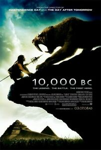 10,000 B.C. (2008) Original One Sheet Movie Theatre Poster 27x40