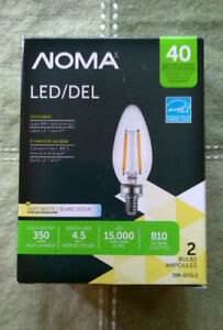 NOMA LED chandelier bulbs