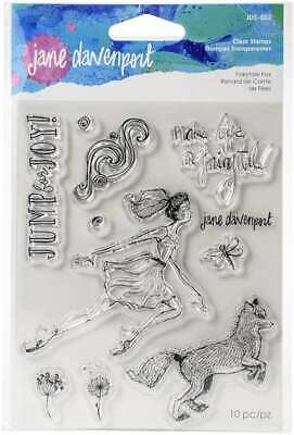 Jane Davenport Whimsical & Wild Collection Clear Stamps Set Fairy 813233045799 Collection Clear Stamps
