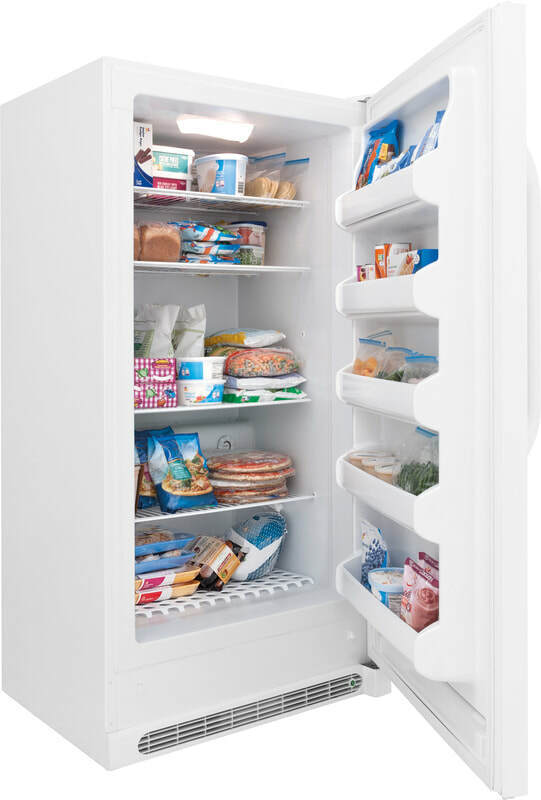 CROSLEY Upright Freezer with 10 foot cord and 21 cubic foot
