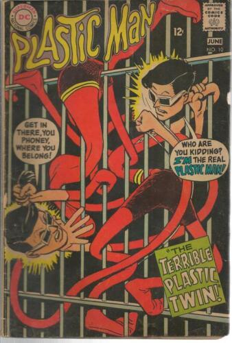 Plastic Man #10 ORIGINAL Vintage 1968 DC Comics