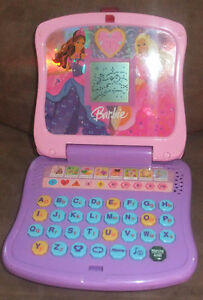 Barbie Diamond Castle FRENCH Learning Laptop