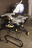 "10"" sliding miter saw with stand"