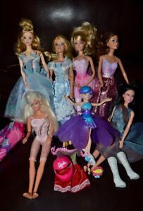 Group of Barbies