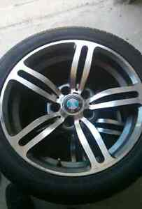 """Selling 17""""in bmw for 3series rims"""