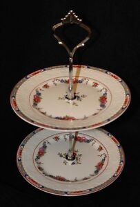 ALFRED MEAKIN  TIER CAKE STAND