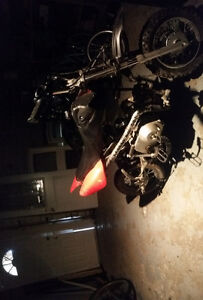 Looking to trade 4spd 100cc pitbike for bmx or trials bike