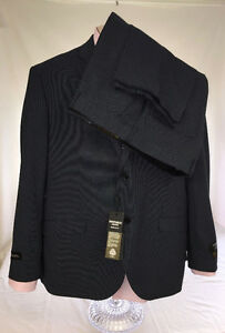 NEW EMPORIO COLLEZIONE Super 180's Men's Wool Suit full. Size 48