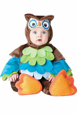 What a Hoot Owl Jumpsuit Infant/Toddler Halloween Costume - Toddler Owl Costume