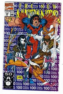 The New Mutants #100 Marvel Comics