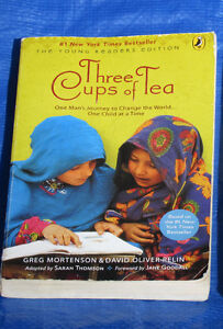 Three Cups of Tea or Little Women books
