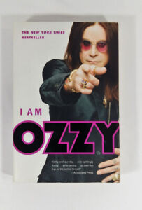 I Am Ozzy Paper Back Book Best Seller Gritty Raunchy Osbourne