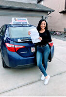 March sales on driving lessons in Edmonton. Call us today!