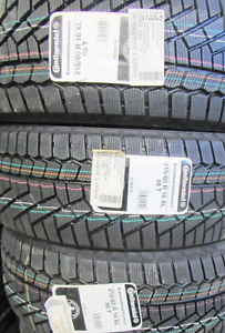 4 Continental WINTER tires 215/60/16 - NEW