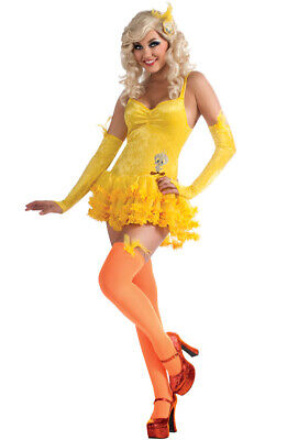 Brand New Looney Tunes Secret Wishes Tweety Adult Halloween - Tweety Costume