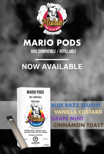 REFILLABLE JUUL PODS / INTRODUCTORY SALE 20% OFF!