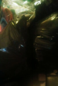 Free! Spring cleaning! 5 garbage bags of items!