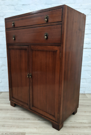 Vintage Linen Cabinet (DELIVERY AVAILABLE)