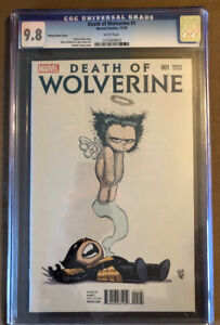 Death Of Wolverine CGC 9.8 young variant cover