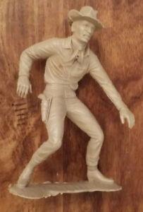 1964 - Vintage Louis Marx Cowboy Quick Draw 1964 Plastic Figure