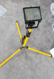 500w work light adjustable tripod