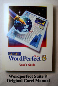 BOOK: WordPerfect 8 suite - User's Guide,