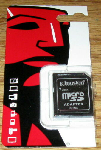 1 Kingston MicroSD to SD Adapter NEW Guaranteed First Class ENVELOPE NO TRACKING