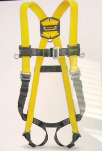 Miller Harness and Shock Absorbing Lanyard 6'