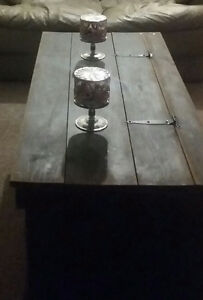 Handmade wooden chest/coffee table