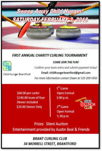 CURLING FOR LOCAL KIDS CHARITY