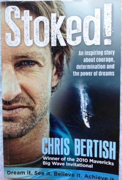 Stoked! by Chris Bertish - book signed by Chris Bertish