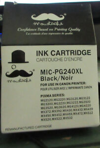 Ink Cartridge unopened Black MIC PG240XL Cannon