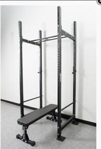 X-Series Power Rack 2x3& inch 11 Gauge Steel * Perfect Condition
