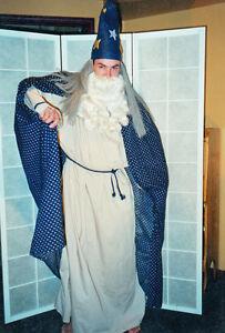 Costume de magicien, merlin, sorcier, déguisement