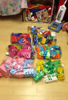 Little Tikes, Fisher-Price,Playmobil, Mega Bloks,Minnie Mouse