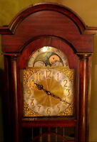 *ON SALE!!! Moon Phase Grandfather Clock - Visa/MCard Available