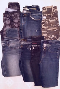 Jeans sizes 7,8,9  $6.00 each or $35.00 for all 7