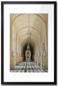 "Large Versailles Framed Wall Art (36"" x 24"")"
