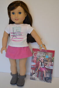 American Girl Grace Thomas Brand New