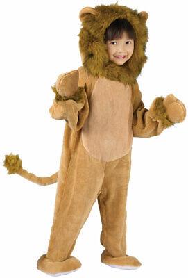 Cuddly Lion Toddler Halloween Costume - Lion Toddler Halloween Costumes