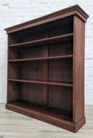 Antique Oak Bookcase (DELIVERY AVAILABLE)