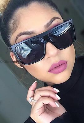 Large ZZ TOP Barnun Dark Aviator Square Designer WaYfe Fashion Sunglasses 5901 (Dark Sunglasses Zz Top)