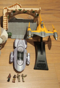 Star Wars Action Fleet and 12 inch Kenner Figures