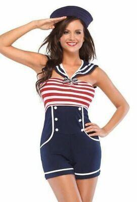 COSTUME SAILOR STYLE VINTAGE CHEAP FOR WOMEN SUIT MARINE CARNIVAL - Cheap Sailor Costume